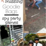 Spy Party Games – The Case of the Missing Goodie Bags