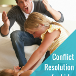 Conflict resolution for kids {with a printable}