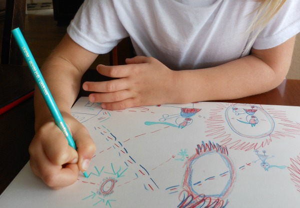 storytelling through art activity