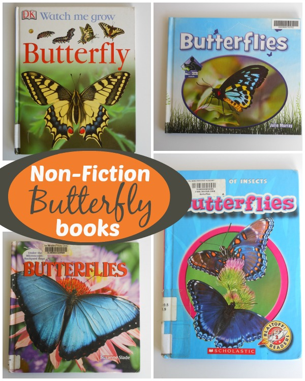 4 Non-Fiction Butterfly Kids Books + 4 Butterfly Storybooks for kids
