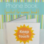 Printable Kids Phone Book: Keep in Touch over Summer Break