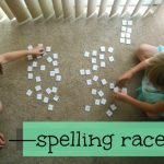 Practice Spelling Words with a Spelling Race