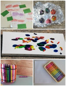 14 Super Cool Things to do with Crayons