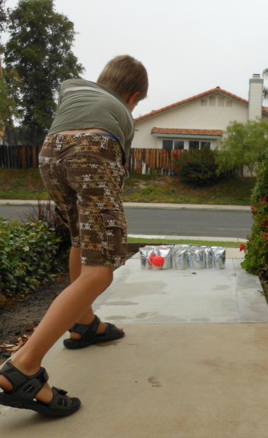 Math bowling! What a fun idea