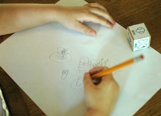 parts of a butterfly printable dice game - fun dice game for learning about butterfly parts