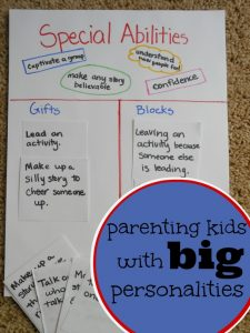great visual tool for parenting kids with big personalities