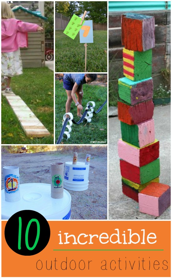Love this list of outdoor activities for kids! Can't wait to try #3.