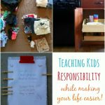 Teaching Kids Responsibility (while making your life easier!)