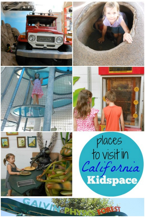 Places to Visit in California -- Kidspace
