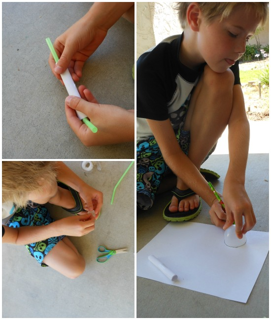 super simple straw rockets