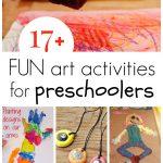 17+ Preschool Art Activities