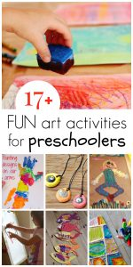 17+ Preschool Art Activities