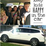 3 Fun ways to Keep Kids Happy While Driving