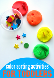 Color Sorting Activities for Toddlers