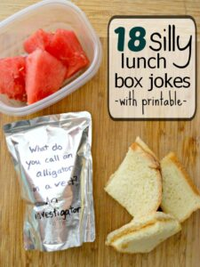 Super Silly Lunch Box Jokes for Kids