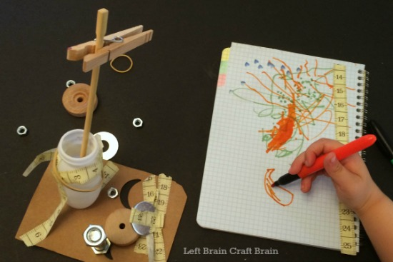 tinker and draw... love this engineering activity for kids