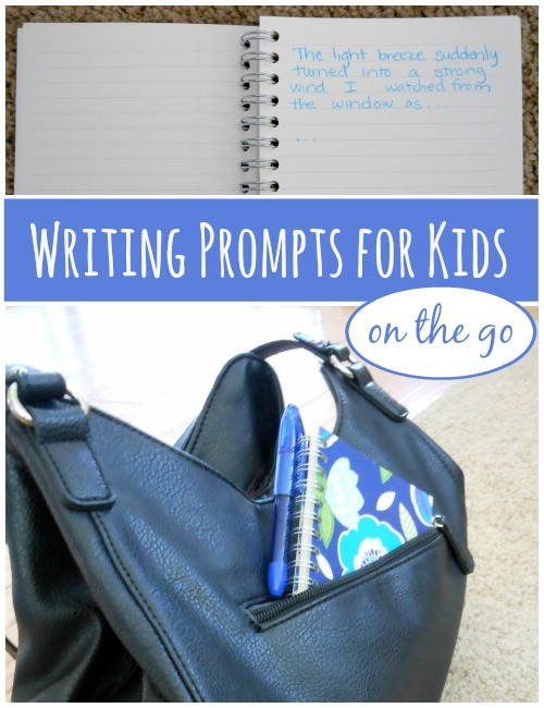 9 fun writing prompts for kids
