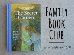 Family book club - starts September 27