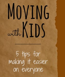 5 Tips for Moving with Kids