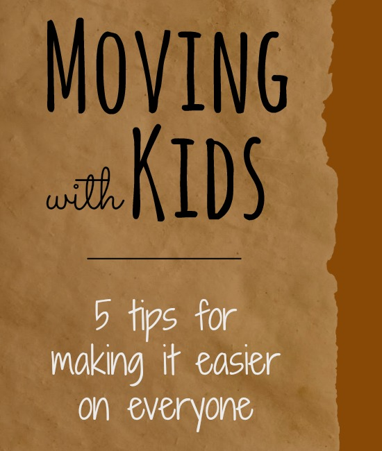 Great tips for moving with kids