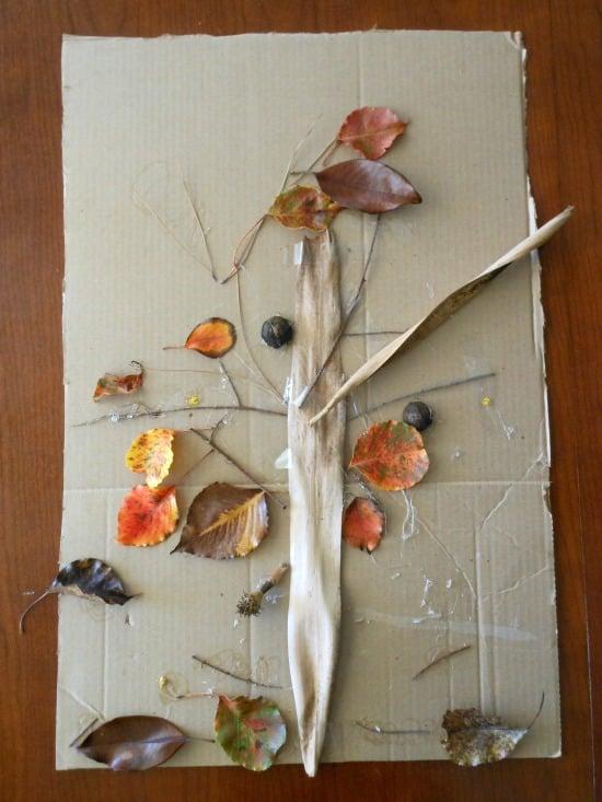 Nature art project (2)