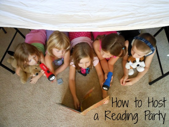 Reading Party Ideas and Tips