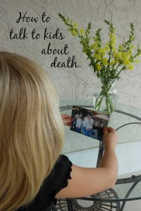 tips for talking to kids about death