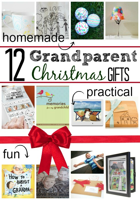 Cheap gifts for grandparents