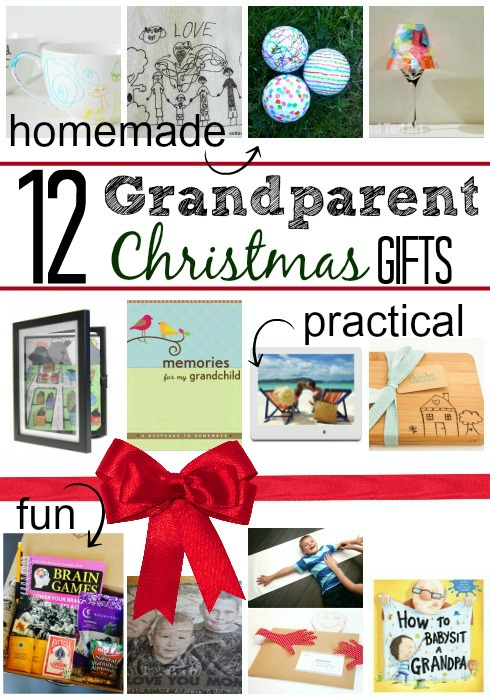 ... Christmas Ts To Grandparents From Kids. on homemade christmas gifts