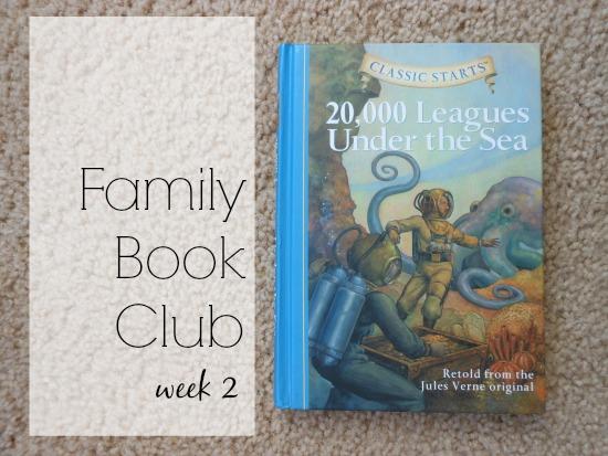 Family Book Club - week 2