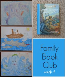 Family book club 20,000 Leagues Under the Sea