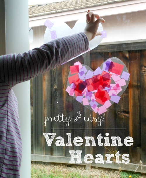 easy heart craft for preschoolers