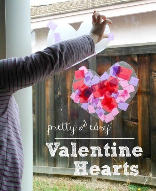 easy heart craft for preschoolers