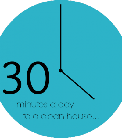 Manageable House Cleaning Schedule (Even With Kids!)