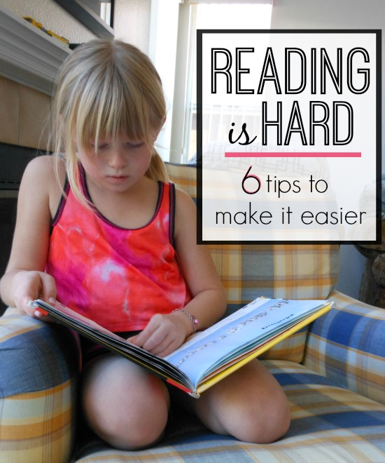 reading IS hard! these reading tips for parents make it easier
