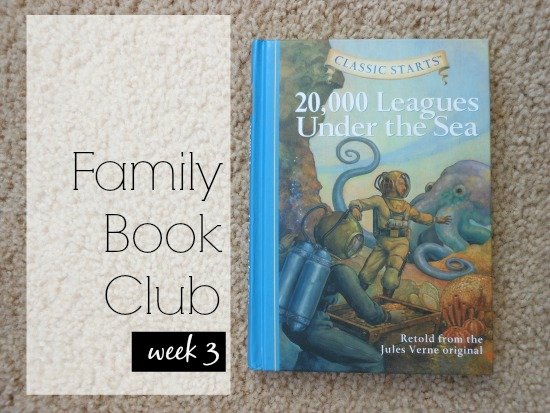 Family Book Club - week 3