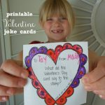 Printable Valentine's Day Joke Cards for Kids