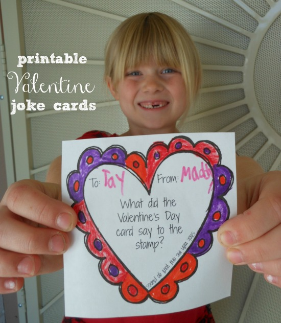 Printable Valentine Jokes For Kids