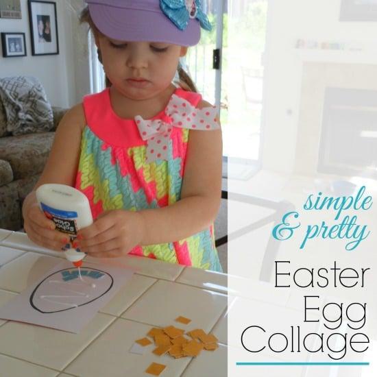 Easter Egg Craft Collage