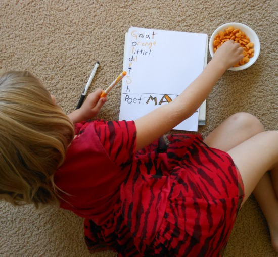 poetry for kids to write
