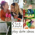 5 Perfect Preschool Playdate Ideas