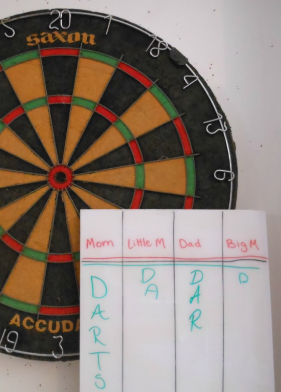 teaching kids how to play darts - fun and easy dart game for beginners