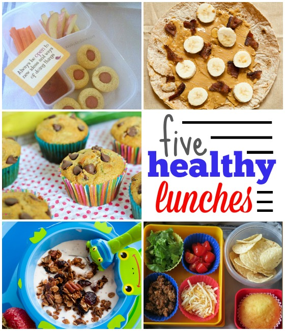 Healthy habits make for healthy kids -- 5 creative and healthy lunch box ideas