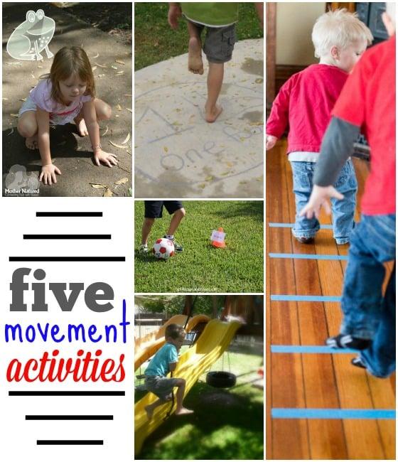 Healthy habits make healthy kids -- 5 movement activities for kids