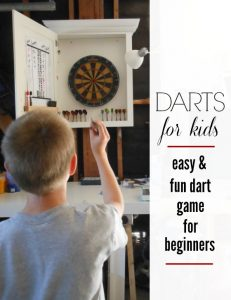 Teaching Kids How to Play Darts: Fun and Easy Dart Game