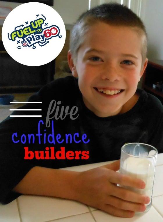 Healthy habits make healthy kids -- 5 ways to build confidence