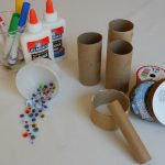 Creative Kid Table Week 1: Toilet Paper Rolls & Googly Eyes