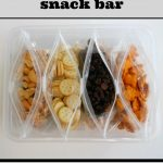 Creating a Family Snack Bar