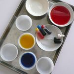 Creative Kid Table Week 8: Color Mixing