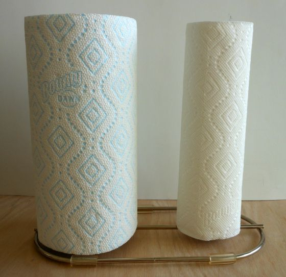 bounty dual paper towel holder